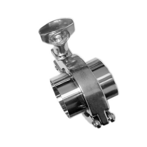 SS304 1-1/2'' OD 2×Sanitary Pipe Weld Ferrule 1×Tri Clamp 1× PTFE Gasket Set