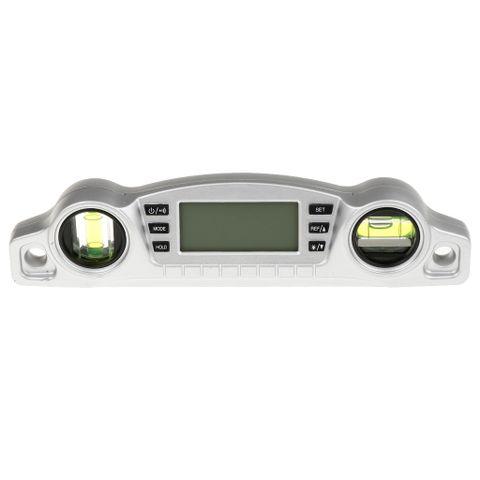 360Deg LCD Digital Protractor Inclinometer Angle Meter Spirit Level Finder