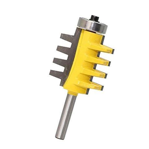 1-1/4'' Reversible Shank Finger Glue Joint Router Bit Cutter Woodworking Tool