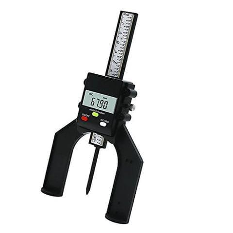Digital Height Depth Gauge Gage Metric Measuring Router Table Saw Tool
