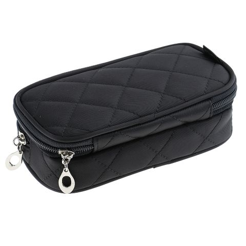 Women Girls Travel Cosmetic Makeup Bag Toiletry Storage Case Travel Accessory Black