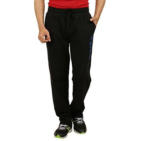 Sixer Men's Cotton Track pant - Black
