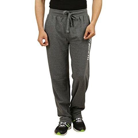 Sixer Men's Cotton Track pant - Dark Grey