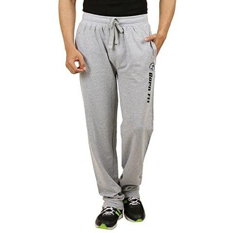 Sixer Men's Cotton Track pant - Light Grey
