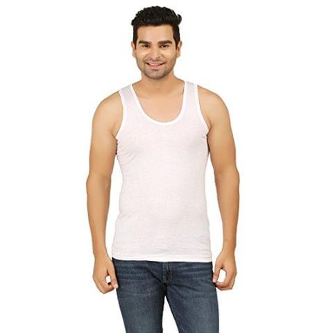SR Kids Wear S.R White Cotton Vest