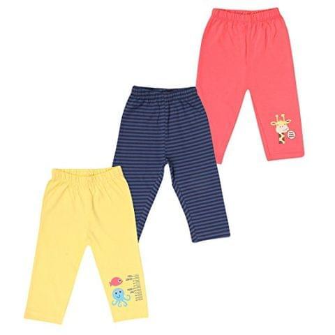 OHMS Unisex Cotton Pant(Pack of 3)
