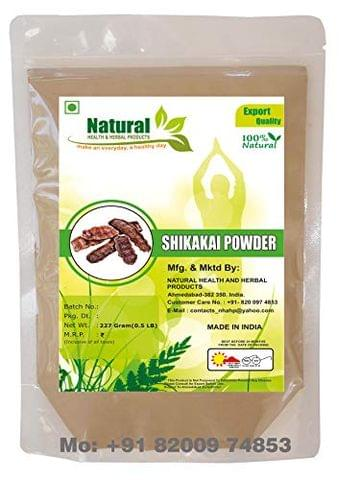 NATURAL HEALTH AND HERBAL PRODUCTS Shikakai Powder (227 gm)