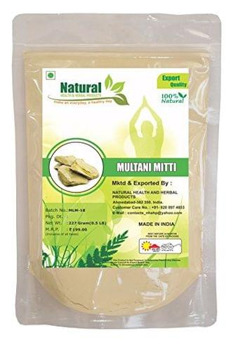 Natural Health And Herbal Product Natural Multani Mitti Powder (227 Gm)