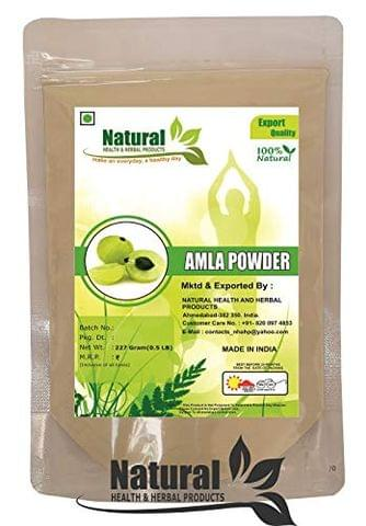 Natural Health and Herbal Products Amla Powder (227 g)