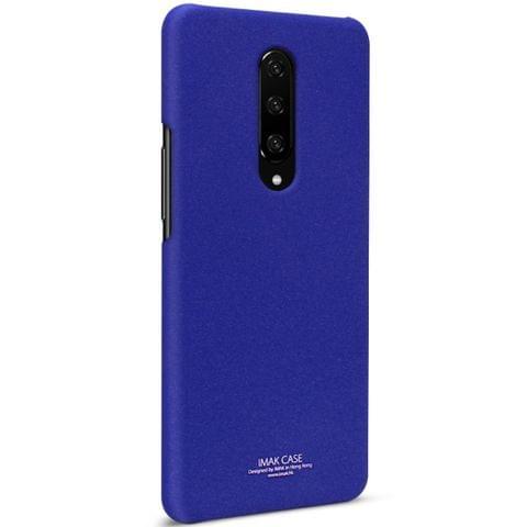 IMAK Matte Touch Cowboy PC Case for OnePlus 7 Pro(Blue)