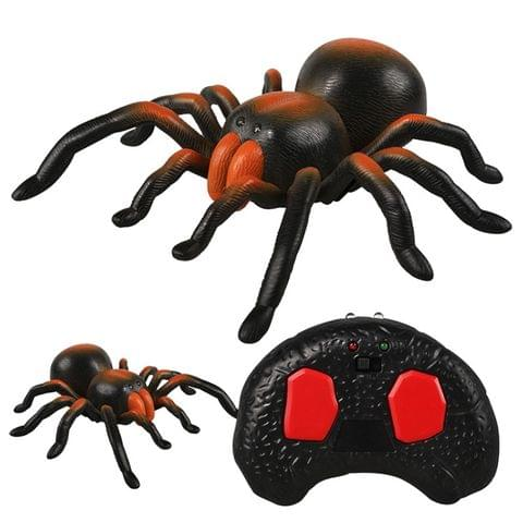 Tricky Funny Toy Infrared Remote Control Scary Creepy Spider, Size: 22*23cm