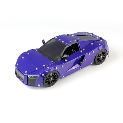 MoFun SW(RC)-002 Remote Control Alloy Assembly Model Vehicle Toy Audi R8