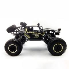 HD609 1:8 Oversized Alloy Climbing Car Off-road Remote Control Vehicle Toy (Black)