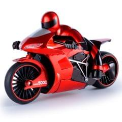 CSRC-22  2.4GHz Rechargeable Telecontrol Motorcycle Children Toy Simulation Model  High Speed Drift Car with Remote Controller (Red)
