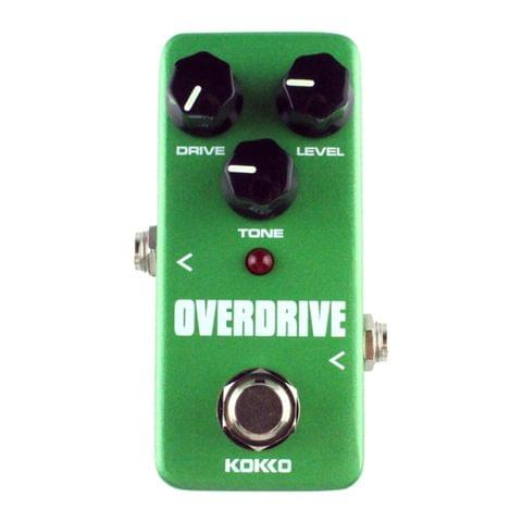 KOKKO FOD3 Mini Electric Guitar Tube Sound Overload Monoblock Effects Pedal(Green)