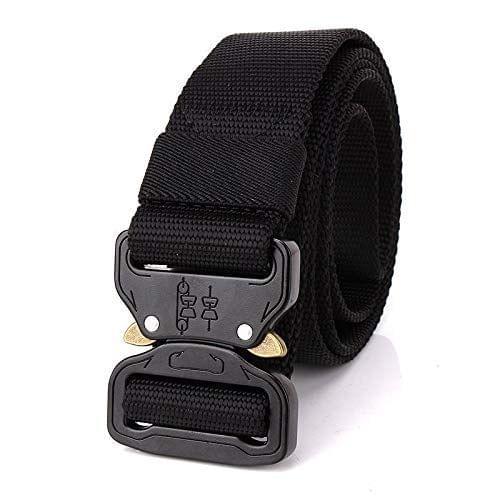 Men's Tactical Belt Nylon Military Style Webbing Belt