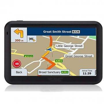 5 Inch Portable Navigator North America Map