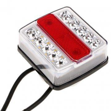 12V 10 LED Trailer Lights Warning light