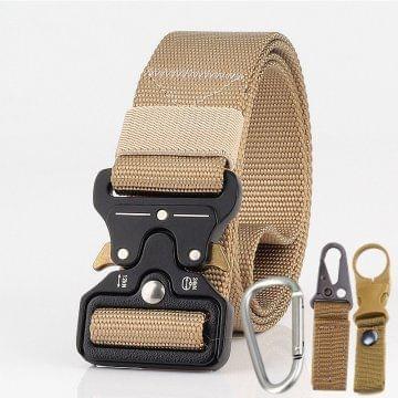 Men Tactical Belt Khaki