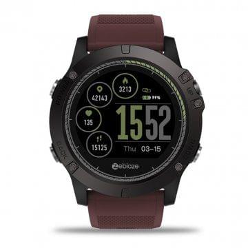 Zeblaze VIBE3 HR IP67 Smartwatch - Red