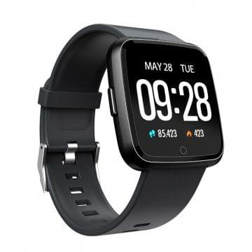 Y7 Fitness Tracker Sports Bracelet - black