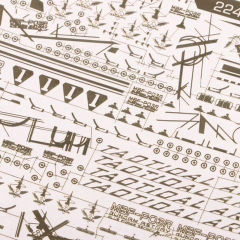Eassycart 2247-704 Model Decal Paste Stickers Toys Model Tools for MG Gundam Model Accessory