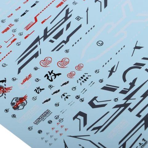 Eassycart Model Decals Water Slide Sticker Toys Model Tools for MG 1/100 Gundam Models Accessories