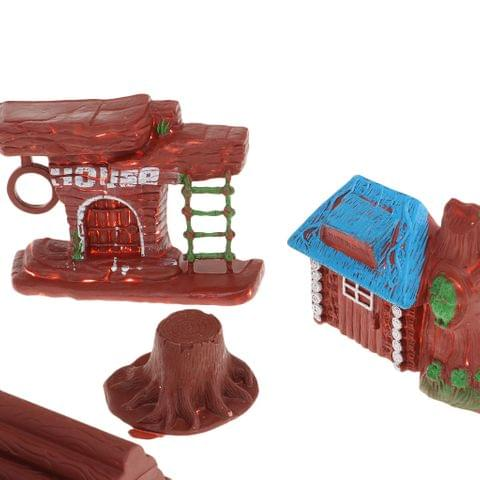 Eassycart Savage Action Figure House Sets Scene Building Sand Table Model Accessory