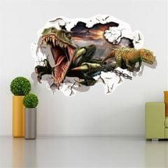 3D Home Decor Dinosaurs Removable Wall Stickers, Size: 60cm x 90cm