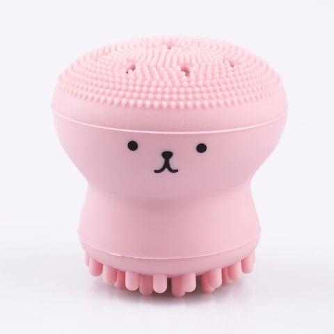 GECOMO Small Octopus Shape Silicone Face Cleansing Brush