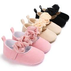 Lovely Flower Baby Girl Newborn Crib Shoes Soft Prewalker Anti-slip Baby Shoes(Brown)