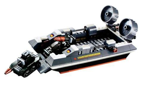 Planet of Toys Sea Horse Hovercraft Block Set (282 Pieces)