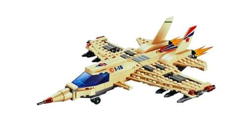 Planet of Toys J-15 Fighter S.W.A.T Counter-Terrorism Unit Building Blocks (270 Pieces)