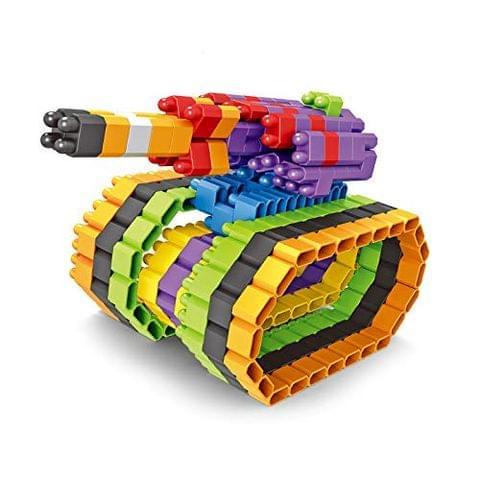 Planet of Toys 240 pcs. Stem Education Series Bullet Blocks