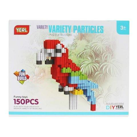 Planet of Toys 150pcs. Stem Education Series Variety Particles Blocks