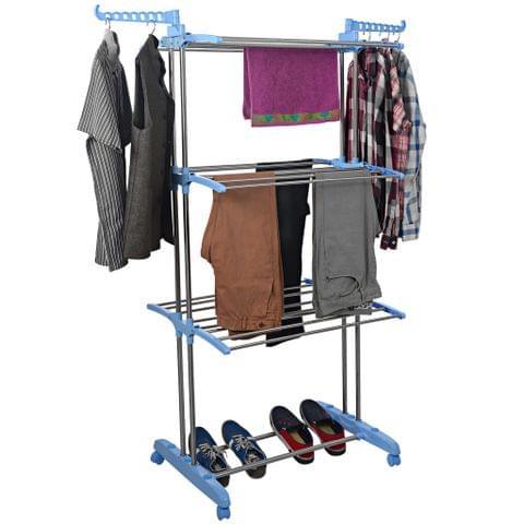 CLOTH DRYING STAND - S/S JUMBO TOWEL STAND