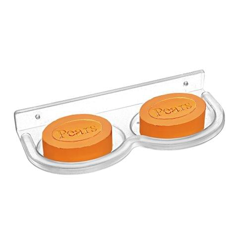 UNBREAKABLE - DOUBLE SOAP DISH - OVAL