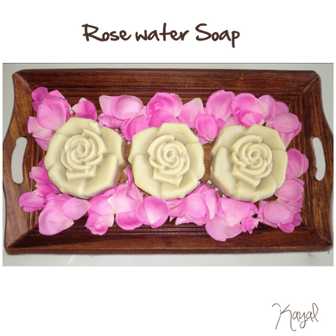 Natural Homemade Rose water soap
