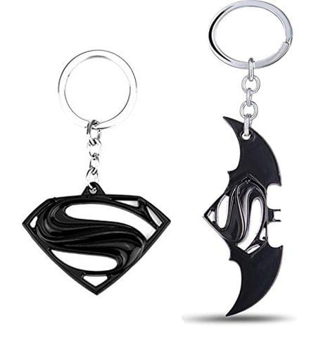 SOI Superman BvS B Key Chains (Pack of 2)
