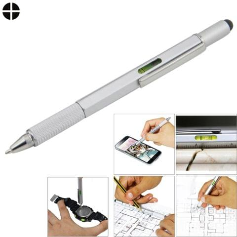 Multi-functional 6 in 1 Professional Stylus