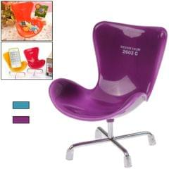 Magic Lovely Chair Style Plastic Storage Rack Cell Phone Holder (Random Color Delivery)