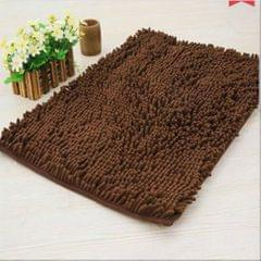 Doormat Anti-slip Floor Water Absorption Rug Bath Mat for Kitchen Bathroom Stairs(Coffee)