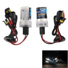 DC12V 35W H7 HID Xenon Light Single Beam Super Vision Waterproof Head Lamp, Color Temperature: 6000K, Pack of 2