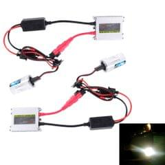 2PCS 35W HB4/9006 2800 LM Slim HID Xenon Light with 2 Alloy HID Ballast, High Intensity Discharge Lamp, Color Temperature: 4300K
