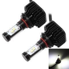 2 PCS K8 9005 40W 4000 LM 6000K Car Headlight with 4 CREE Lamps, DC 9-36V(White Light)