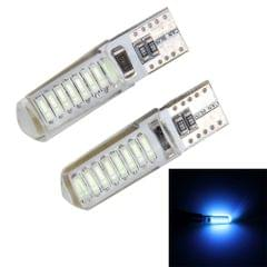 2PCS T10 3W 16 SMD-4014 LEDs Car Clearance Lights Lamp, DC 12V(Ice Blue Light)