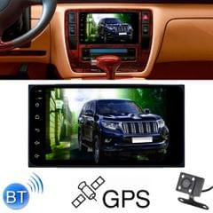 6155C HD 2 Din 7 inch Car Radio Receiver MP5 Player, Android 8.1, Support Phone Link & FM & AM & Bluetooth & WIFI & GPS for Toyota