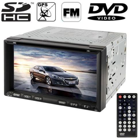 6.95 inch High Definition Digital TFT Display Touch Screen Car MP4 / DVD Player with Remote Controller, Support GPS / Bluetooth / TV System / USB / SD Card / Aux In (ZY-6911)