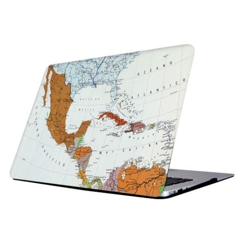 RS-711 Colorful Printing Laptop Plastic Protective Case for Macbook Retina 12 inch A1931 / A1534