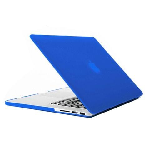 Laptop Frosted Hard Plastic Protection Case for Macbook Pro Retina 13.3 inch(Blue)